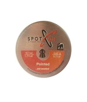 Кулі SPOTON Pointed - кал. 4.5 мм, 0.63 г, 250 шт.
