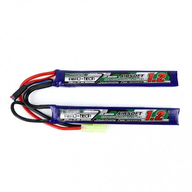 7.4V 1200mAh 25-50C Li-Po - акумулятор [Turnigy]
