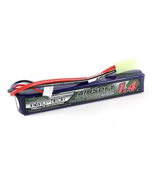 7.4V 1400mAh 2S 15~25C Li-Po - аккумулятор [Turnigy]