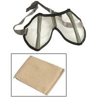 WWII противопыльные очки Африканского корпуса (DAK)