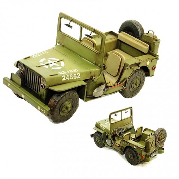 Модель автомобиля Willys MB