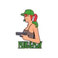 Емблема PLUG & PLAY