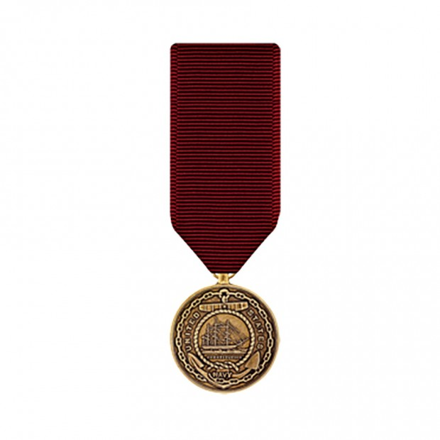 """Медаль """"За бездоганну службу"""" в ВМФ"""