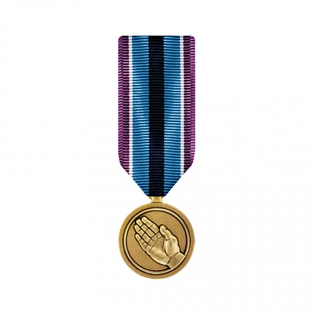 "Медаль ""За гуманітарну допомогу"" США"