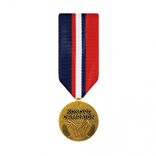 """Медаль """"За Косовську кампанію"""" США"""