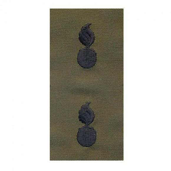 Набор нашивок US Army Ordnance Corps - Olive Green