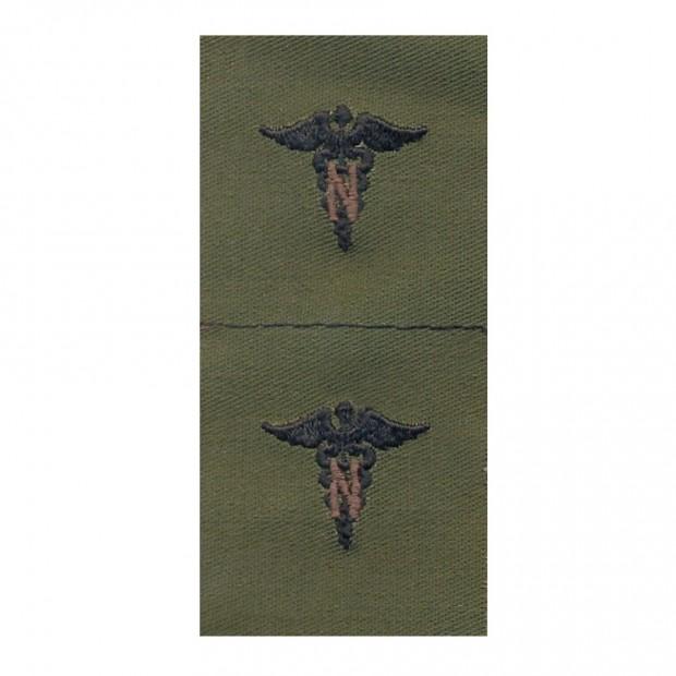 Набор нашивок US Army Nurse Corps - Olive Green