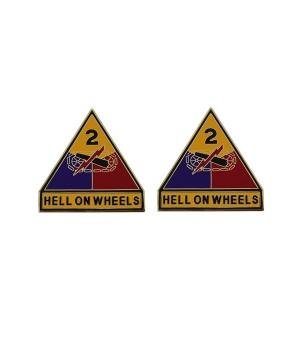 Знак 2-я Бронетанковая дивизия армии США