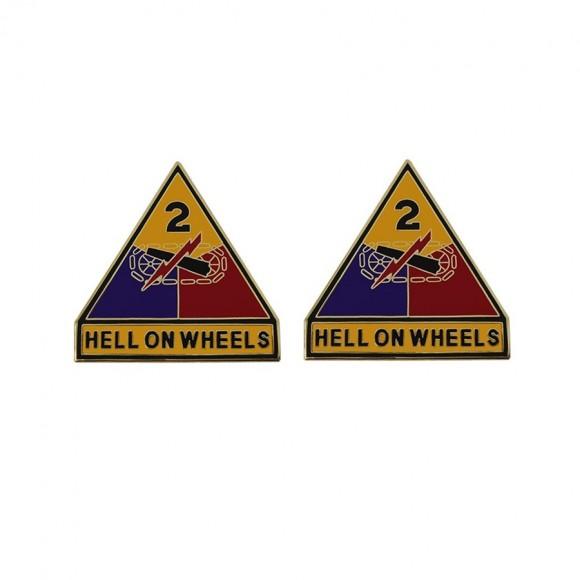 Знак 2-га Бронетанкова дивізія армії США