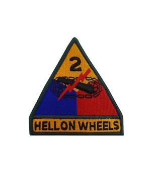 Емблема 2-га Бронетанкова дивізія армії США