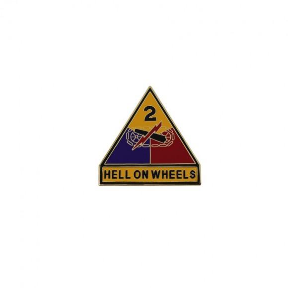 Знак 2-га Бронетанкова дивізія армії США (1)