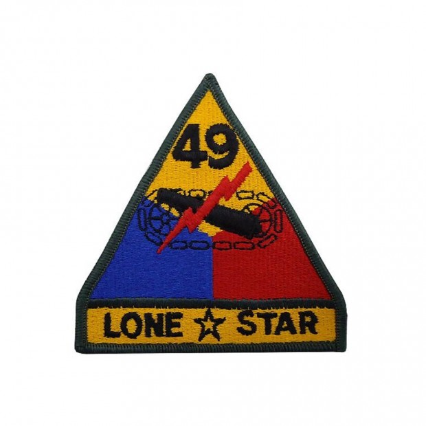 Емблема 49-та Бронетанкова дивізія армії США