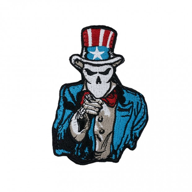 Емблема UNCLE SAM SKELETON [WaveCombat]