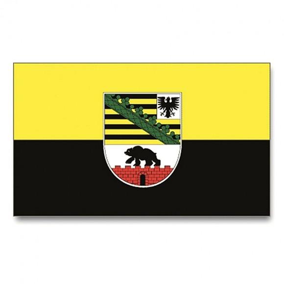 Прапор Саксонії-Анхальт