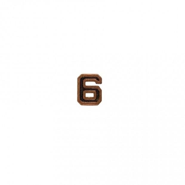 "Бронзова цифра ""6"""