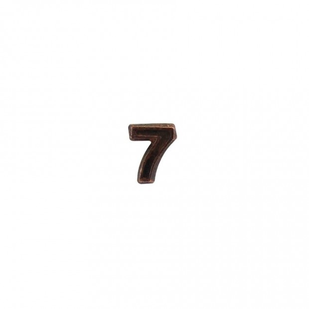 "Бронзова цифра ""7"""