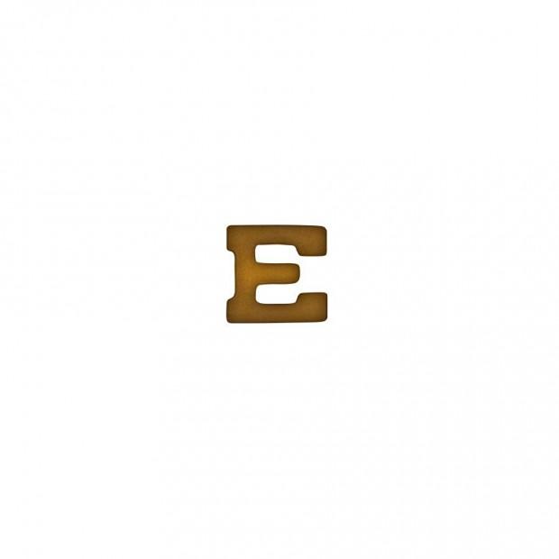 "Бронзова літера ""E"""