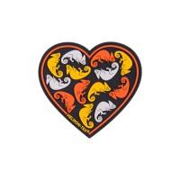 Эмблема HEART - PVC