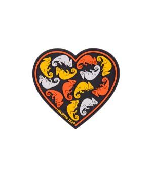Емблема HEART - PVC