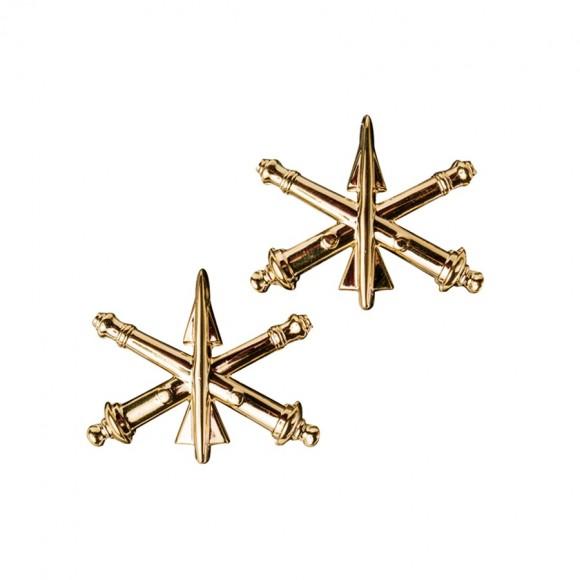 Петлицы офицера Противовоздушной артиллерии армии США