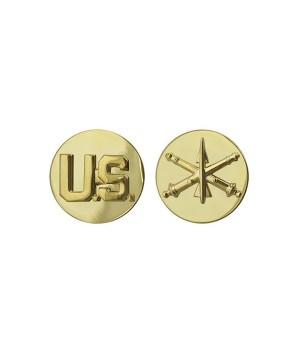 Петлиці військовослужбовця Протиповітряної артилерії армії США