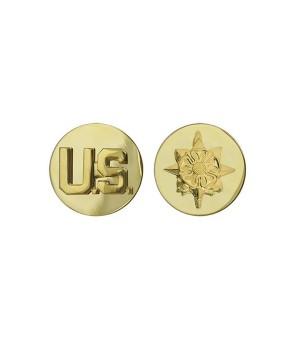 Петлиці військовослужбовця Військової розвідки армії США