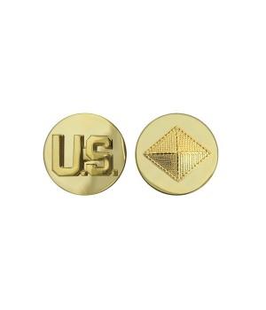 Петлиці військовослужбовця  Фінансового корпусу армії США