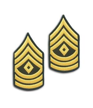 Шеврон US Army First Sergeant