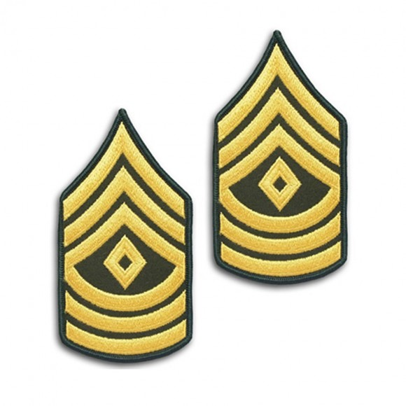 Шеврон US Army First Sergeant