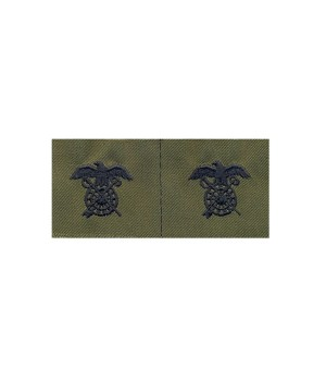 Набір нашивок US Army Quartermaster Corps - Olive Green