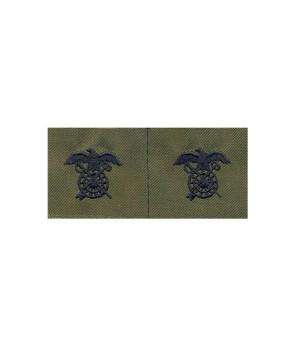 Набор нашивок US Army Quartermaster Corps - Olive Green