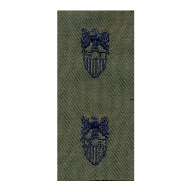 Набор нашивок US Army Aide Major general - Olive Green