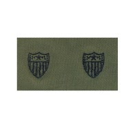 Набір нашивок US Army Adjutant General's Corps - Olive Green
