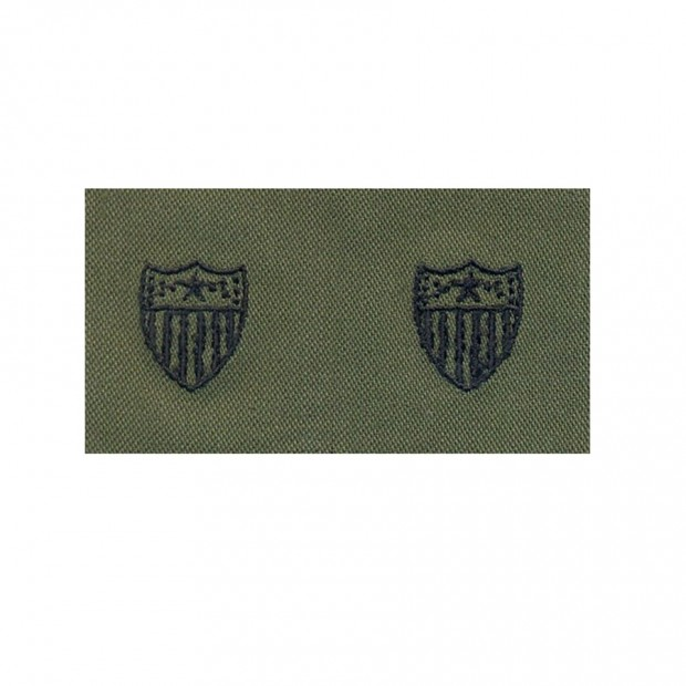 Набор нашивок US Army Adjutant General's Corps - Olive Green