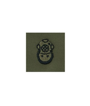 Нашивка US Army Diver Second Class - Olive Green