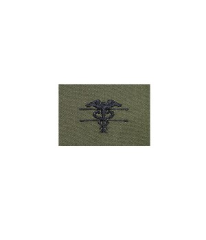 Нашивка US Army Expert Field Medical - Olive Green