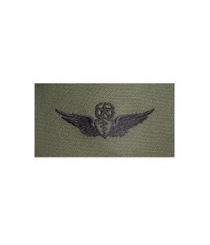 Нашивка US Army Master Flight Surgeon - Olive Green