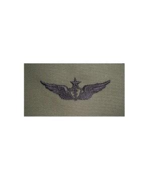Нашивка US Army Senior Flight Surgeon - Olive Green