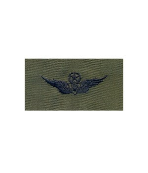 Нашивка US Army Master Aviation (Aircraft Crewman) - Olive Green