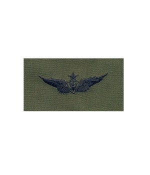 Нашивка US Army Senior Aviation (Aircraft Crewman) - Olive Green