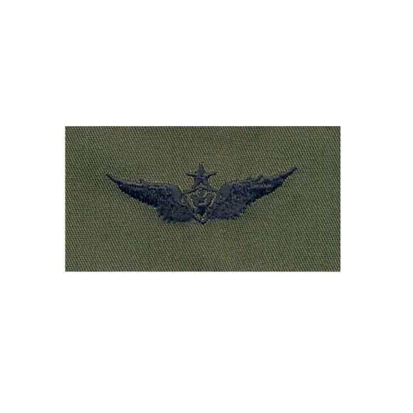 Нашивка US Army Senior Aviation (Aircraft Crewman) - Olive Green