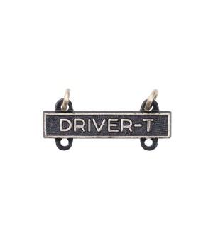 Квалификационный знак DRIVER-T, оксидированный