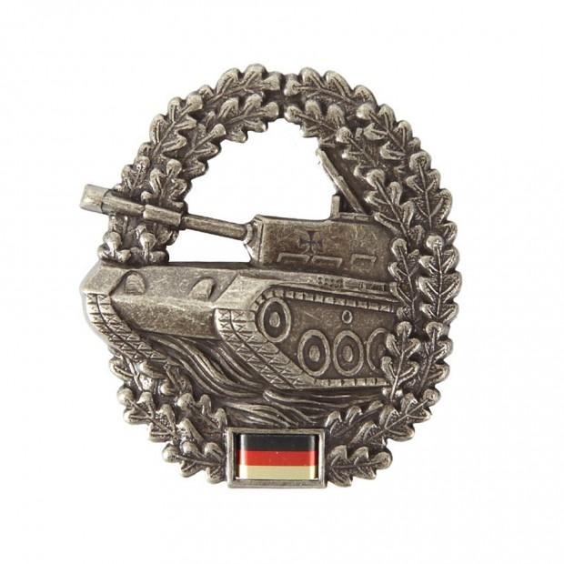 BW беретна кокарда (Mini) PANZERTRUPPE
