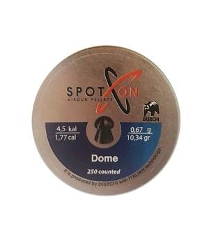 Пули SPOTON Dome - кал. 4.5 мм, 0.67 г, 250 шт.