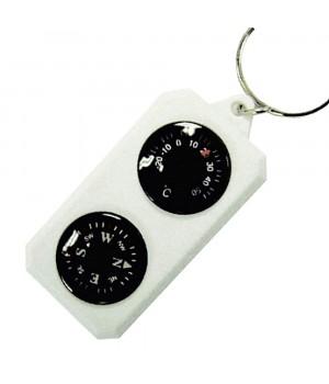 Компас-брелок Sol з термометром