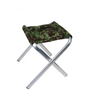 Стілець без спинки - алюмінієвий - до 150 кг