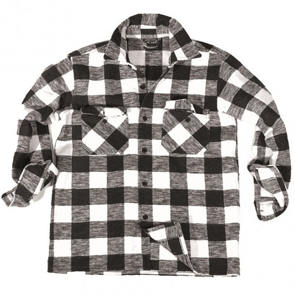 Рубашка в клетку - Flannel