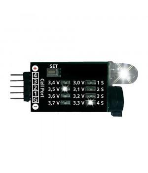 Індикатор напруги для Li-Po батарей 2S-4S