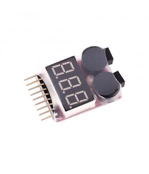 Індикатор напруги для Li-Po батарей 1S-8S [8FIELDS]