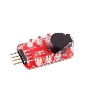 Звуковий LED індикатор заряду Li-Po батареї 2S-3S [8FIELDS]
